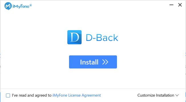 iMyFone D-Back 7.9.5 Crack With Registration Code (2021)